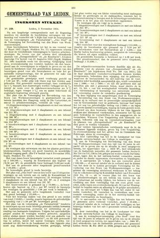 Handelingen van de Raad 1934-11-03