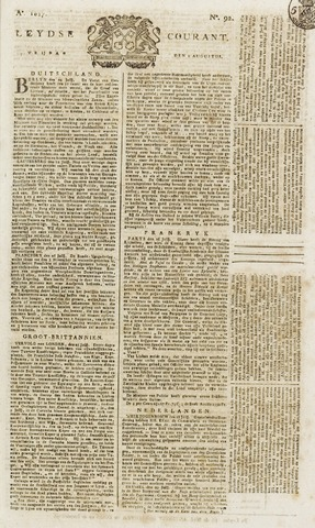 Leydse Courant 1817-08-01