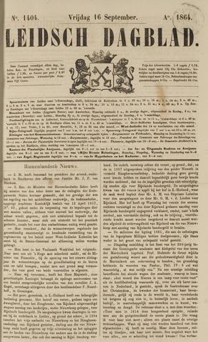 Leidsch Dagblad 1864-09-16