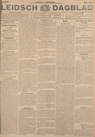 Leidsch Dagblad 1926-11-02