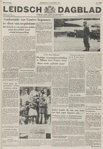 Leidsch Dagblad 1955-10-27