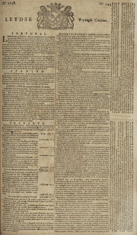 Leydse Courant 1758-12-01