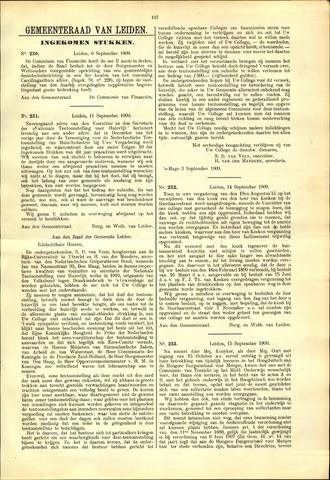 Handelingen van de Raad 1909-09-06