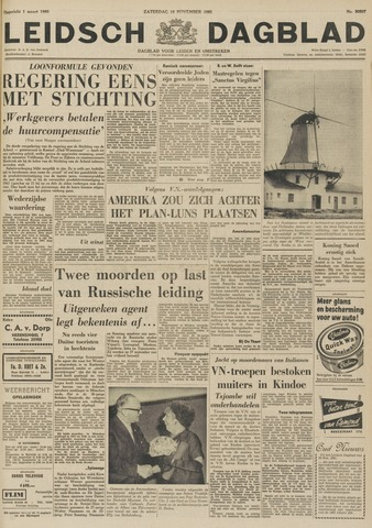 Leidsch Dagblad 1961-11-18