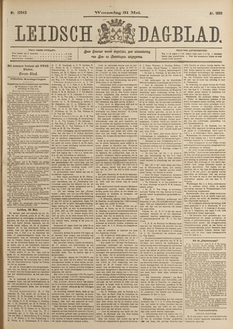 Leidsch Dagblad 1899-05-31
