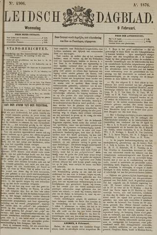 Leidsch Dagblad 1876-02-09