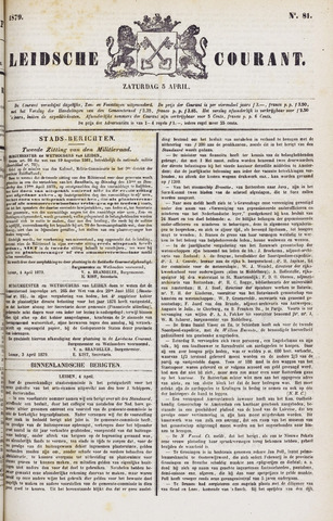 Leydse Courant 1879-04-05