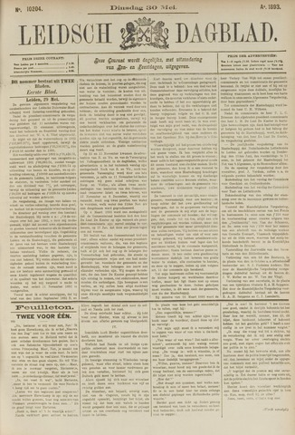 Leidsch Dagblad 1893-05-30