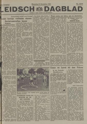 Leidsch Dagblad 1942-12-21