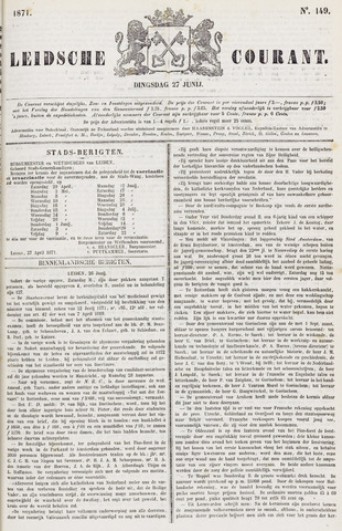 Leydse Courant 1871-06-27