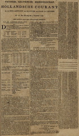 Leydse Courant 1795-09-07