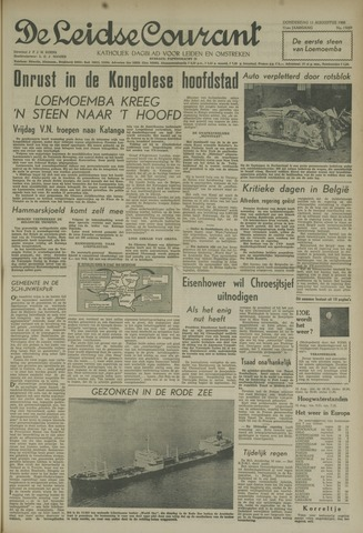 Leidse Courant 1960-08-11