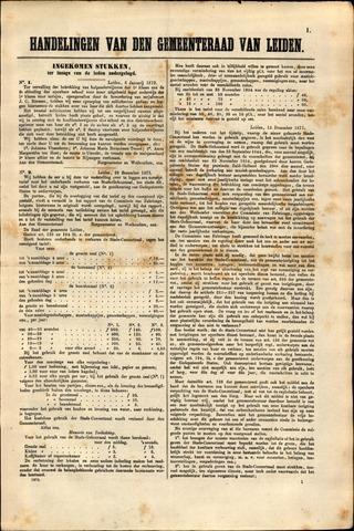 Handelingen van de Raad 1872-01-06