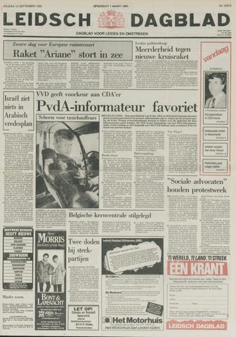 Leidsch Dagblad 1982-09-10