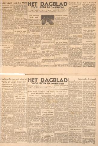 Dagblad voor Leiden en Omstreken 1944-11-15