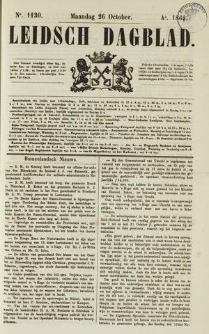 Leidsch Dagblad 1863-10-26