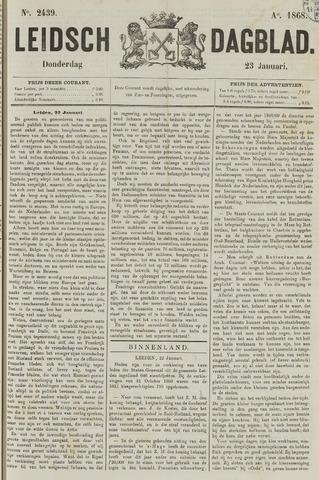 Leidsch Dagblad 1868-01-23