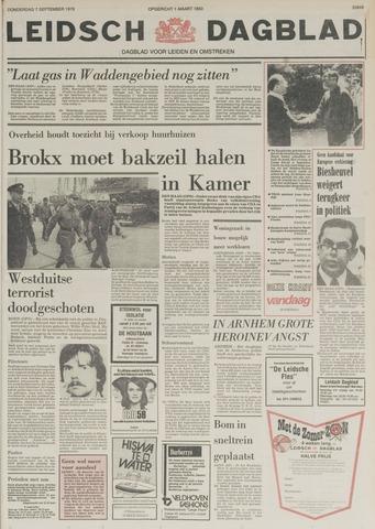 Leidsch Dagblad 1978-09-07