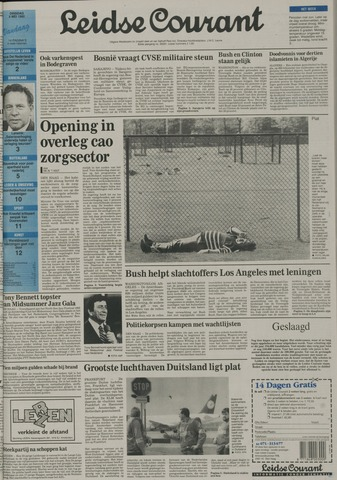 Leidse Courant 1992-05-05