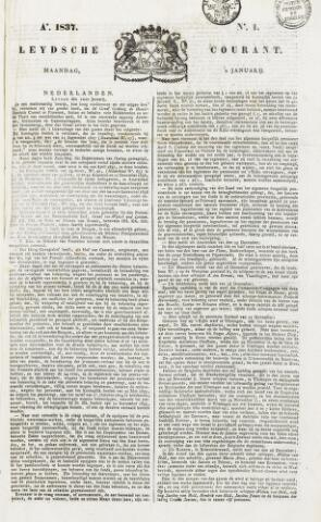 Leydse Courant 1837