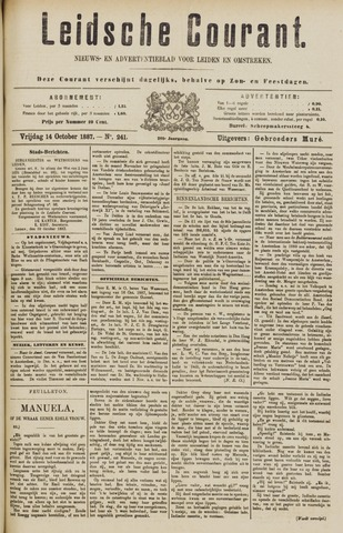 Leydse Courant 1887-10-14
