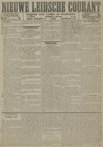 Nieuwe Leidsche Courant 1921-07-04