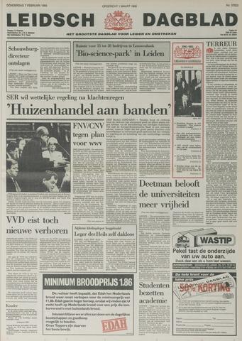 Leidsch Dagblad 1985-02-07