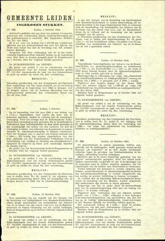 Handelingen van de Raad 1944-10-05
