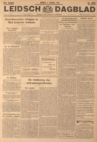 Leidsch Dagblad 1942-01-06