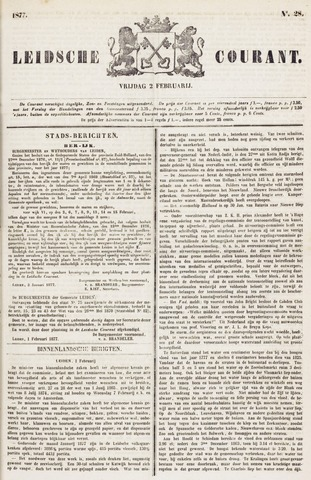 Leydse Courant 1877-02-02