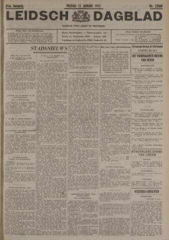 Leidsch Dagblad 1937-01-15