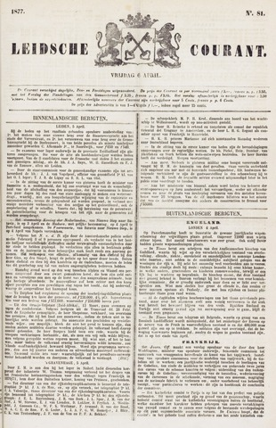 Leydse Courant 1877-04-06