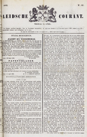 Leydse Courant 1882-04-14