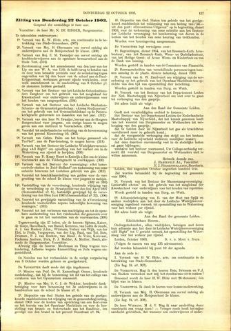 Handelingen van de Raad 1903-10-22