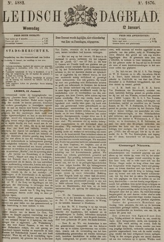 Leidsch Dagblad 1876-01-12