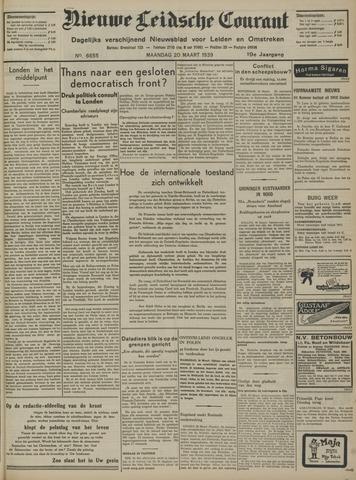 Nieuwe Leidsche Courant 1939-03-20