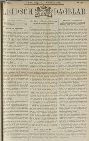 Leidsch Dagblad 1885-11-27