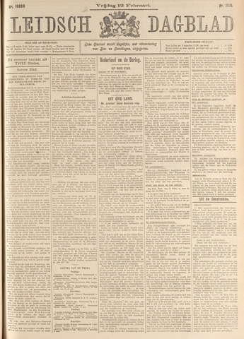 Leidsch Dagblad 1915-02-12