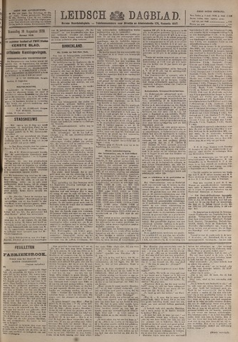 Leidsch Dagblad 1920-08-18