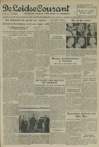 Leidse Courant 1952-11-03