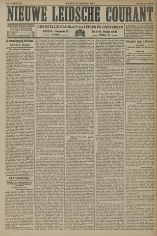 Nieuwe Leidsche Courant 1927-01-14