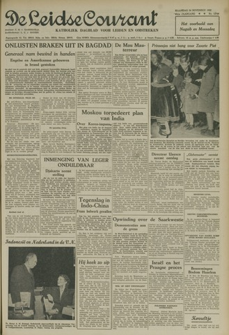 Leidse Courant 1952-11-24