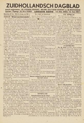 Zuidhollandsch Dagblad 1944-11-06