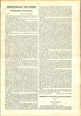 Handelingen van de Raad 1903-04-16