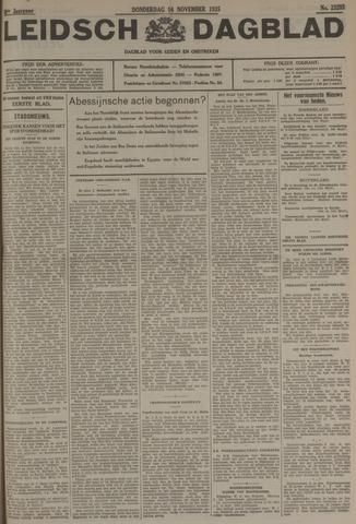 Leidsch Dagblad 1935-11-14
