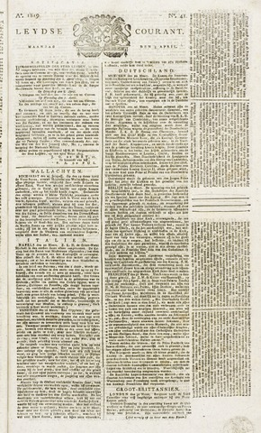 Leydse Courant 1819-04-05