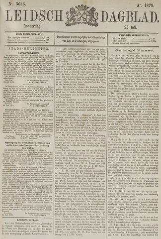 Leidsch Dagblad 1878-07-25