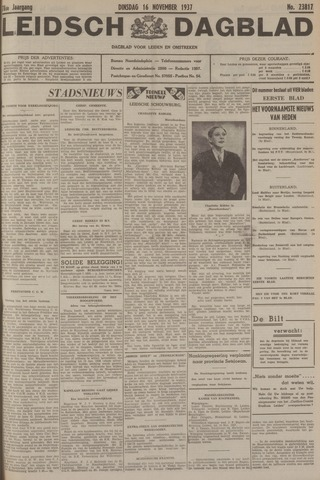 Leidsch Dagblad 1937-11-16