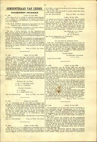 Handelingen van de Raad 1909-06-15