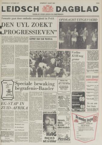 Leidsch Dagblad 1977-10-27